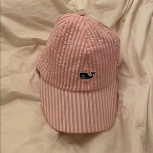 Seersucker hat